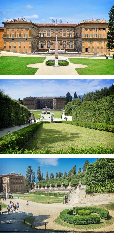 Флорентийские сады Боболи