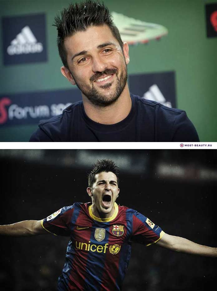 Самые красивые футболисты: Давид Вилья