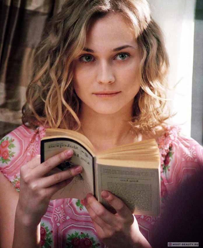 Очень красивые блондинки: Диана Крюгер