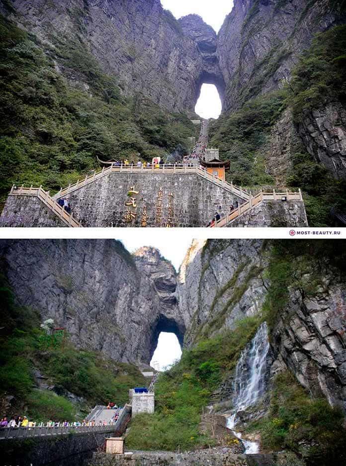 """Пещера """"Небесные врата"""""""