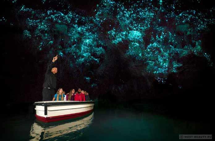 Невероятно красивые места Земли: Пещеры Вайтомо
