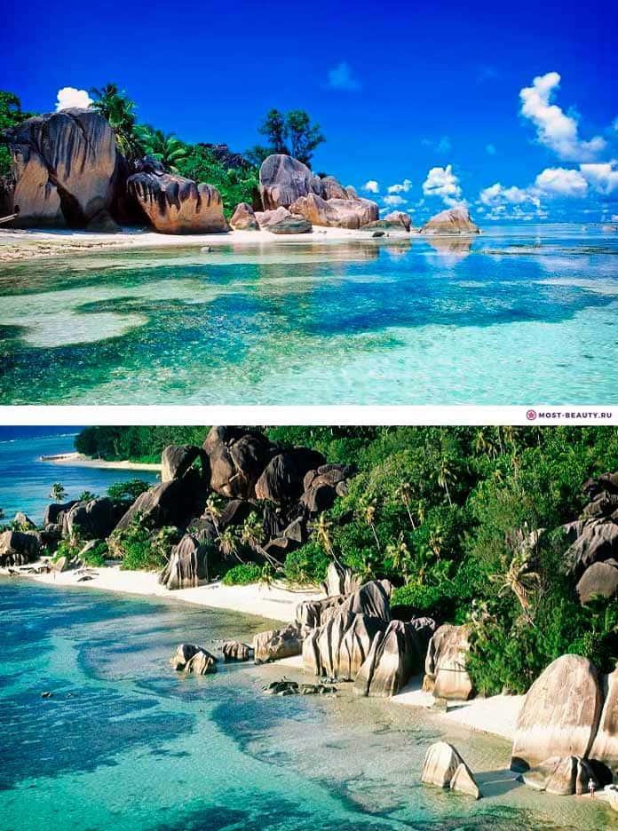 Пляж Анс Сорсе д'Аржан. Самые красивые пляжи