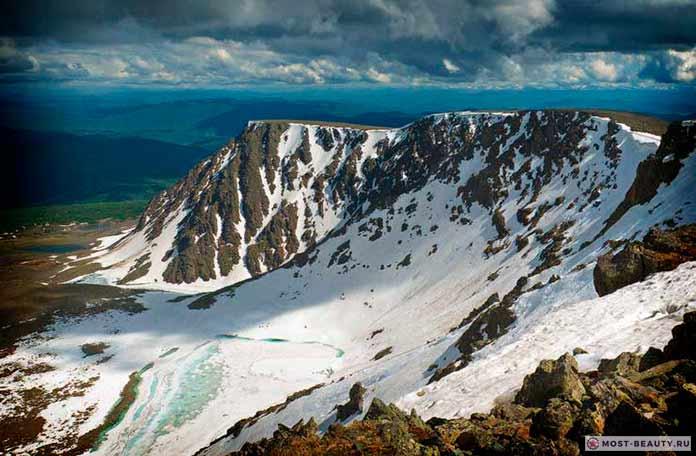 На фото: г.Сарлык, Семинский перевал