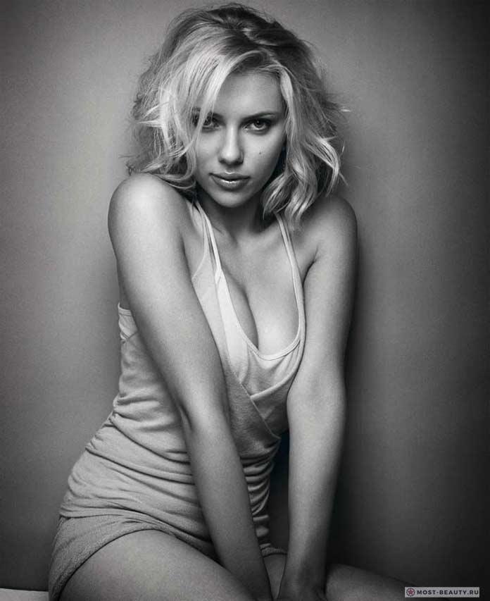 Прекрасные блондинки: Скарлетт Йоханссон