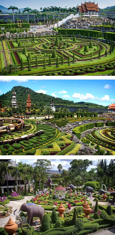 Суан Нонг Нуч. Самые красивые сады мира