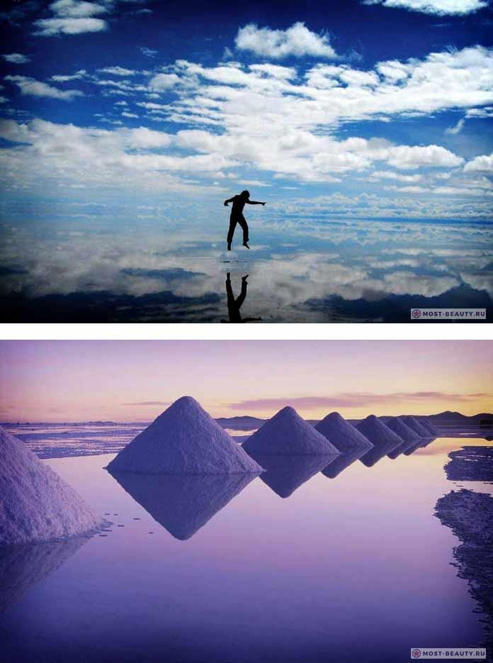 Очень красивые места мира: Солончак Уюни