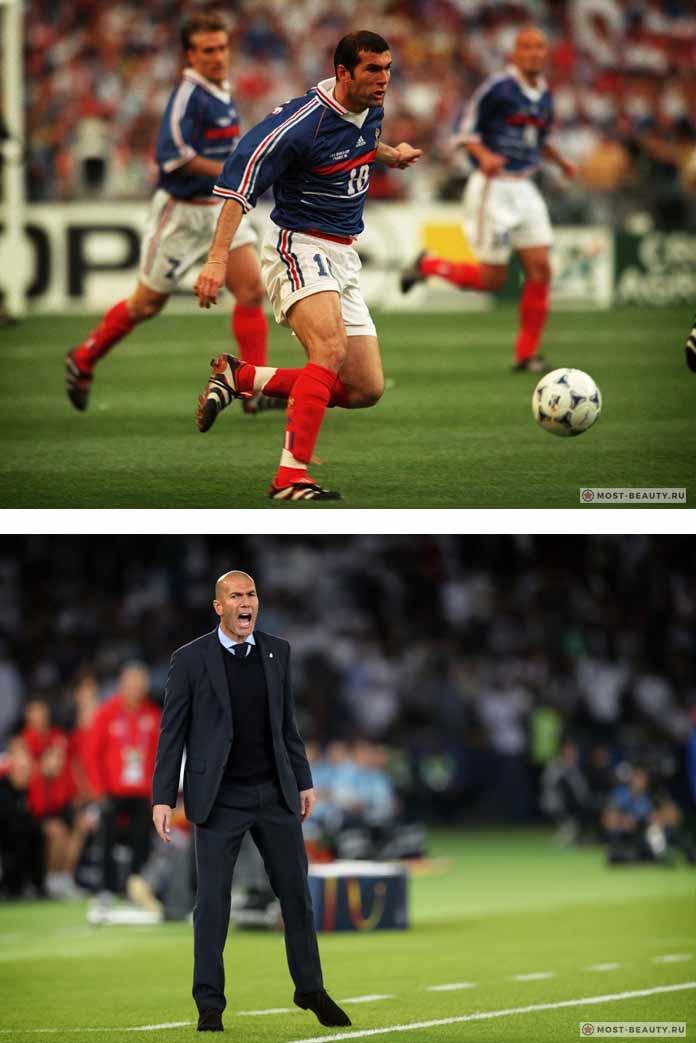 Самые красивые футболисты в истории: Зидан