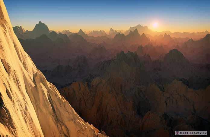 Острые пики Афганистана - красивое фото гор