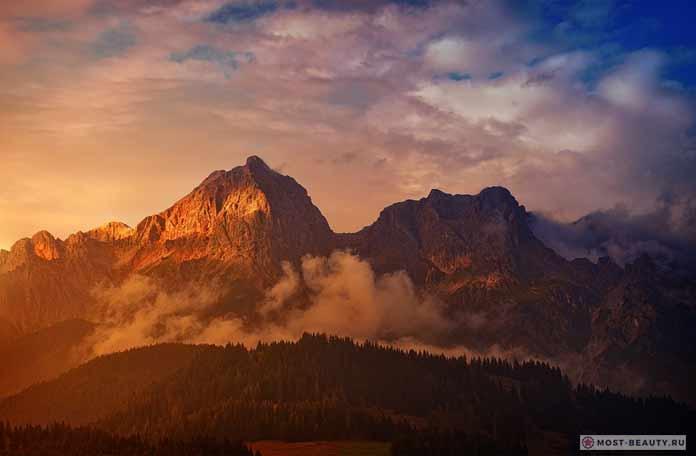 Альпы - нереально красивые горы