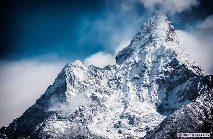 Гималаи - красивые горы на фото