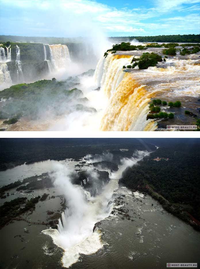 Красивейший водопад Игуасу CC0