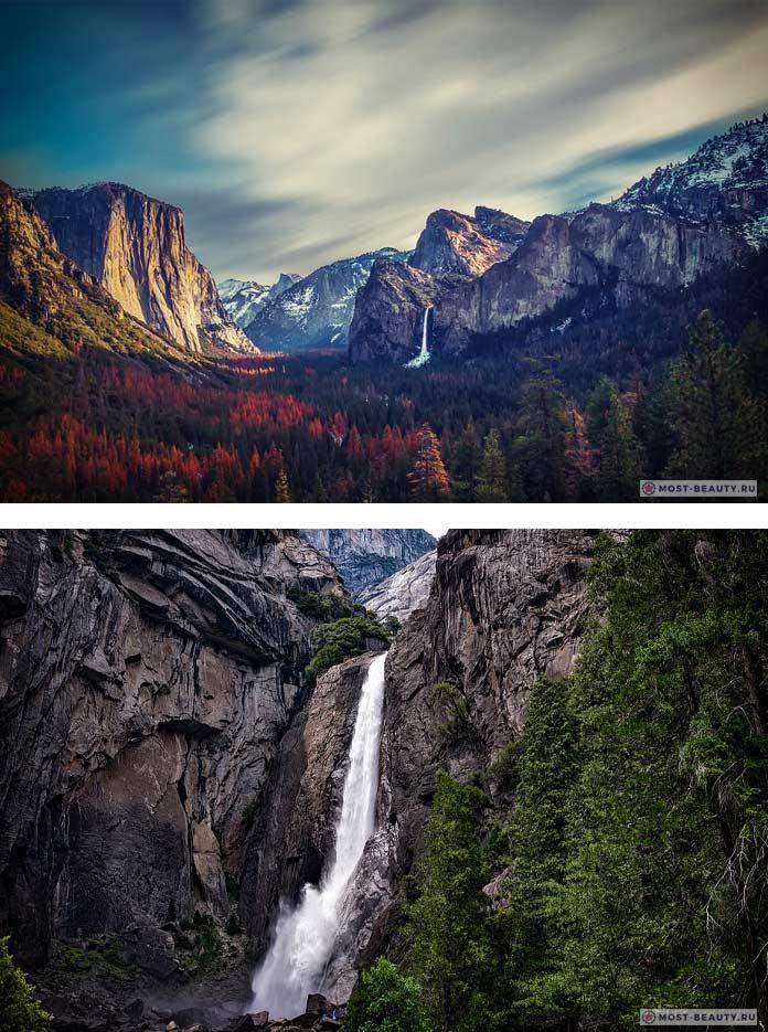 Йосемитский водопад CC0