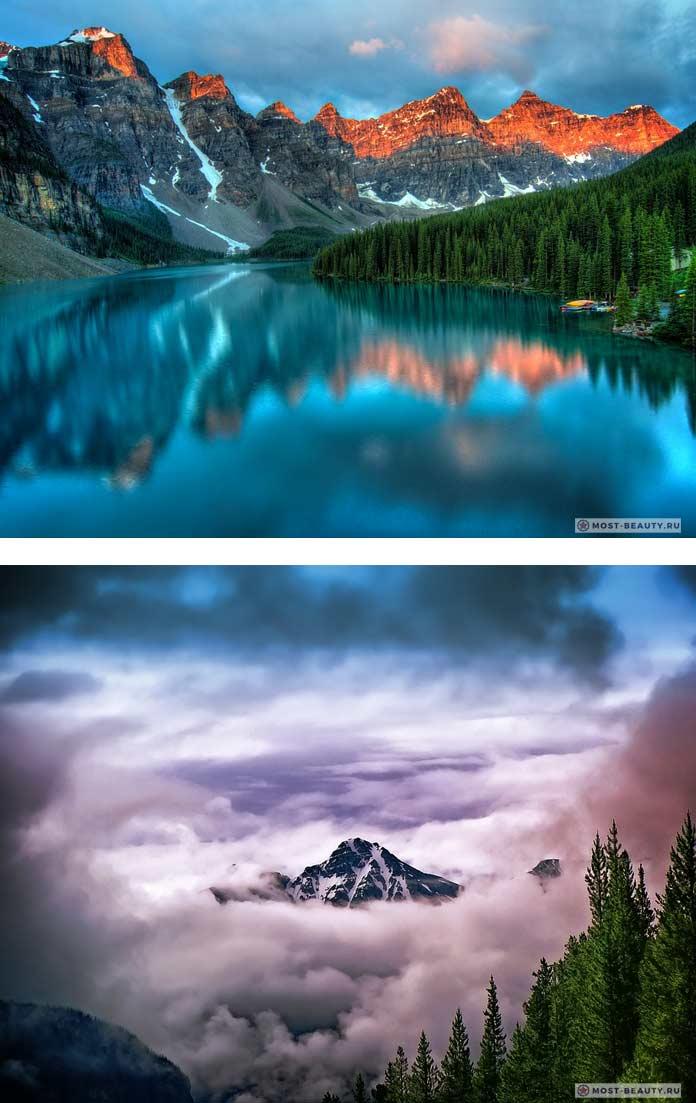 Канада. Самые красивые горы в мире