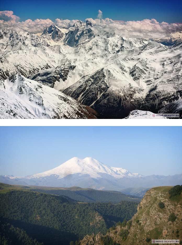 Кавказ - красивые горы в фотографиях