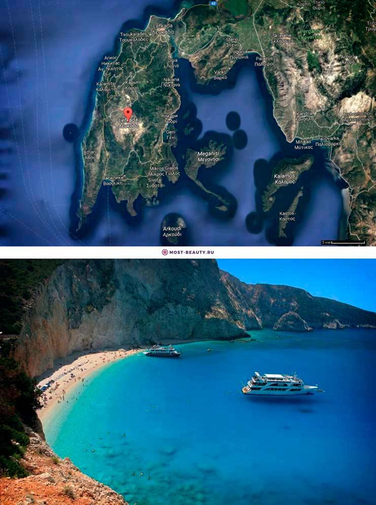 Лефкада. Греческий остров