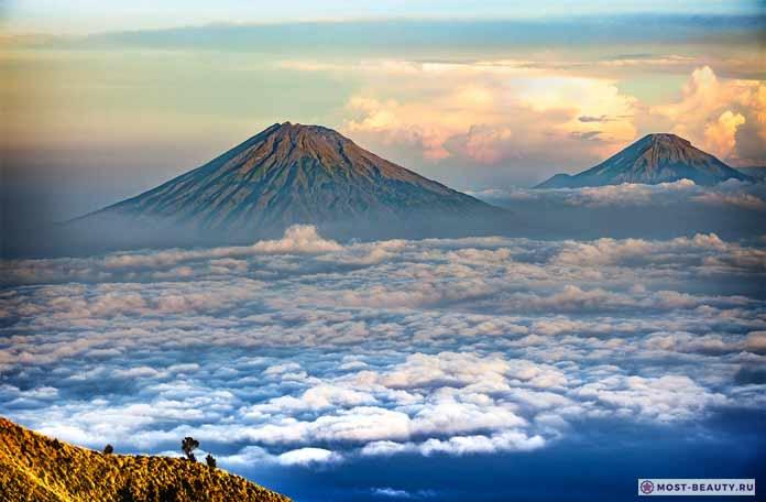 Mount Sumbing - Самые красивые горы земли