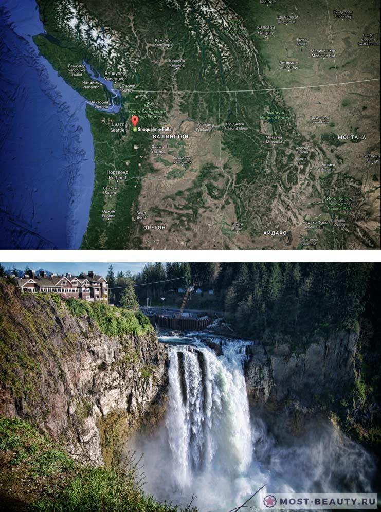 Водопад Сноквалми. Самые красивые водопады в мире