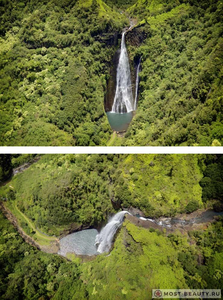 Водопады Манавайопуна