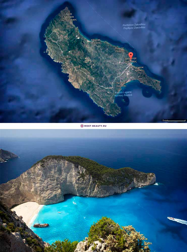 Закинф. Самые красивые острова Греции