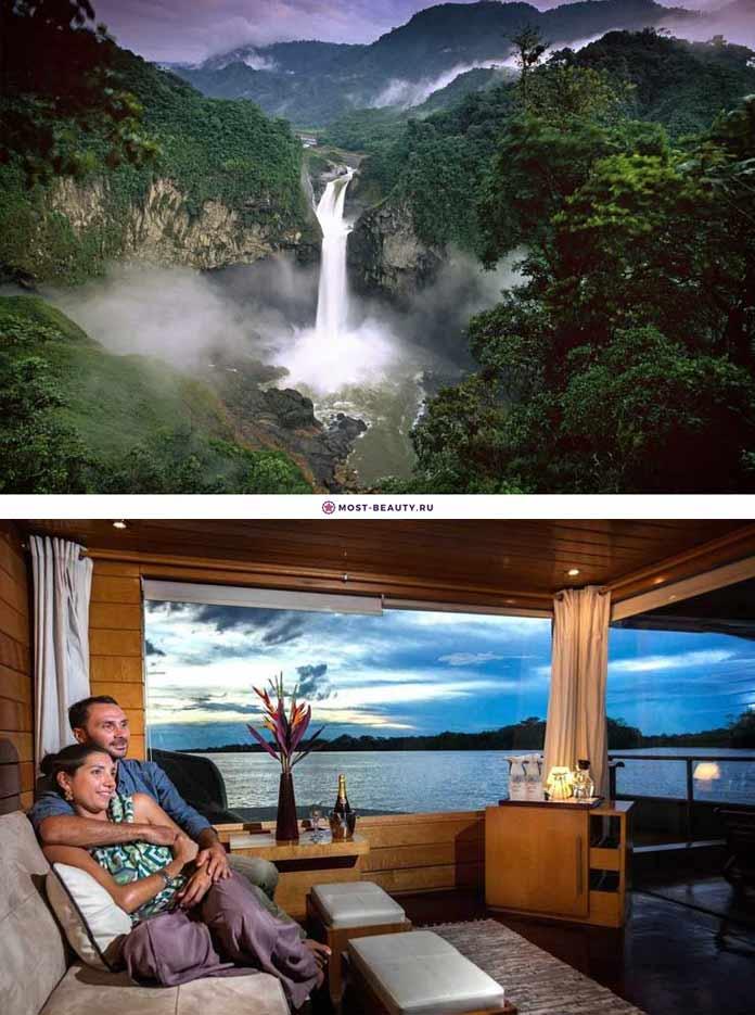 Самые красивые романтические места: Амазонка