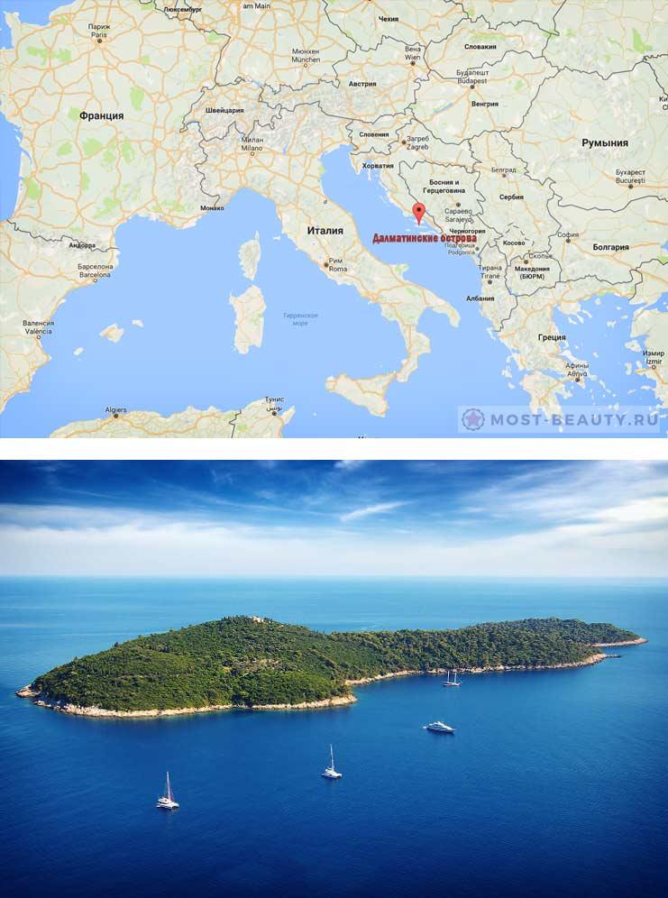 Далматинские острова