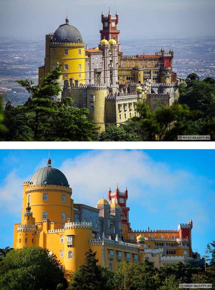 Самые красивые замки: Дворец Пена (CC0)