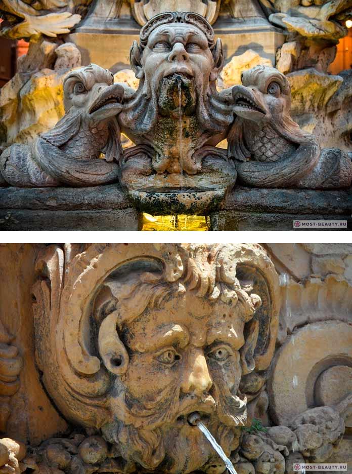 Фото красивых фонтанов