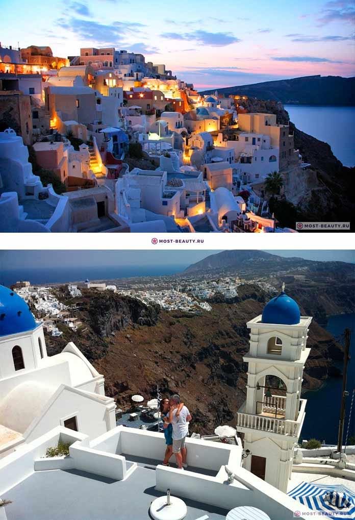 Греческие острова. Санторини