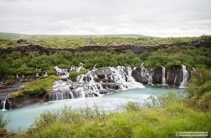 Водопад Хрёйнфоссар (Hryojnfossar) CC0