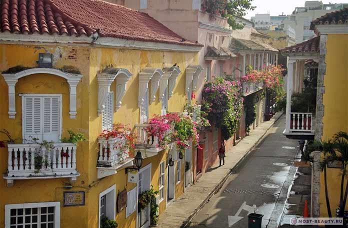 Самые красивые романтические места: Картахена