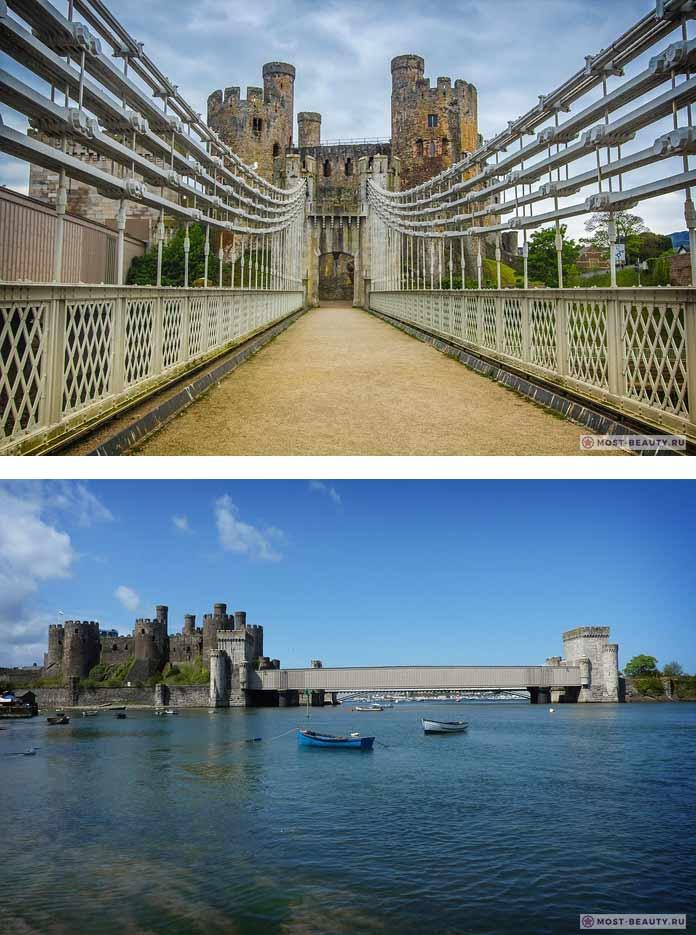 Замок Конви (CC0)