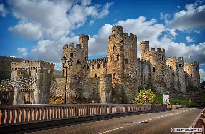 Самые красивые замки: Конви (CC0)
