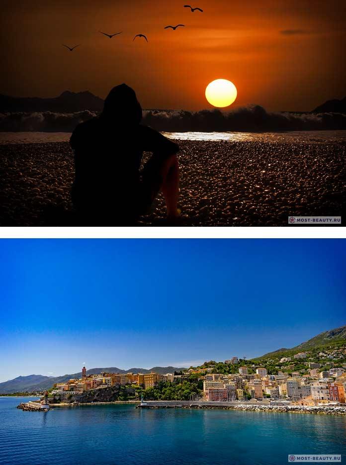Самые красивые романтические места: Корсика