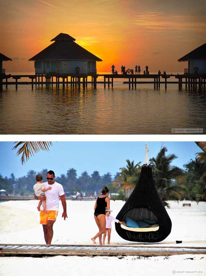 Мальдивы. Красивые и романтичные места планеты