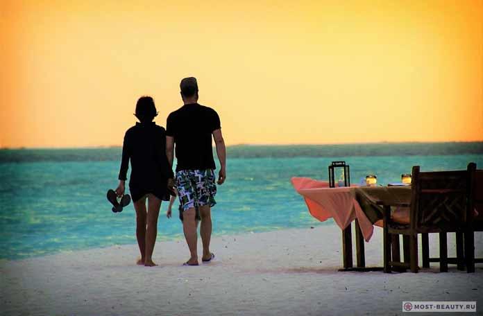 Мальдивы. Самые романтичные места Земли.