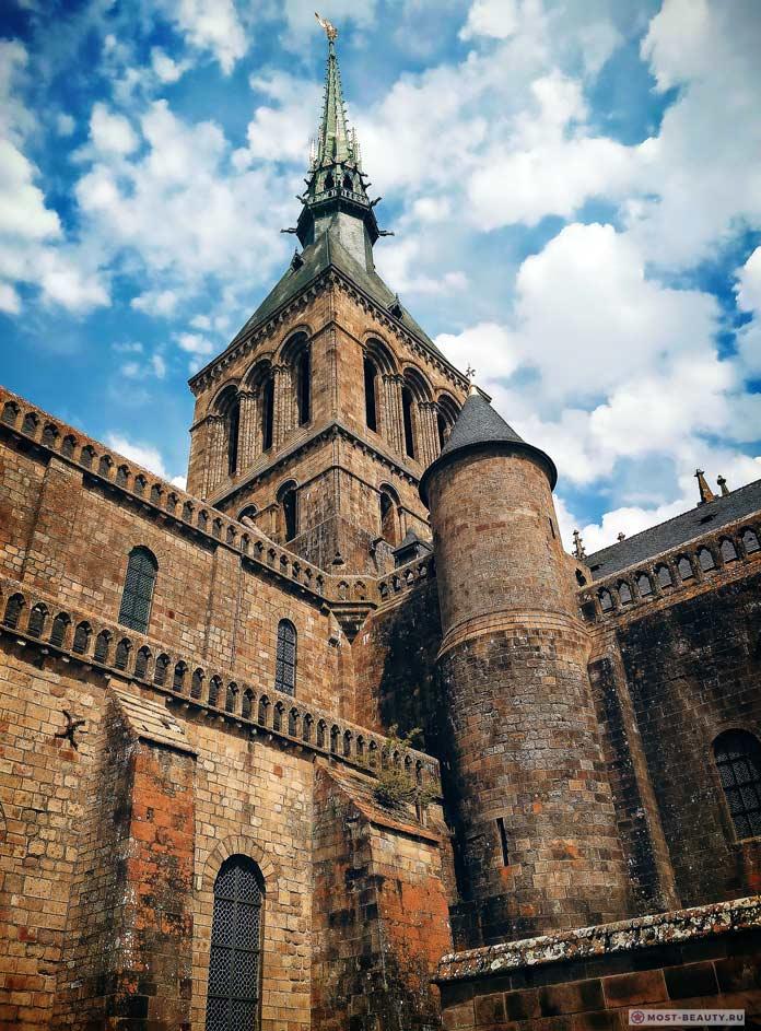 Мон-Сен-Мишель. Самые красивые замки в мире