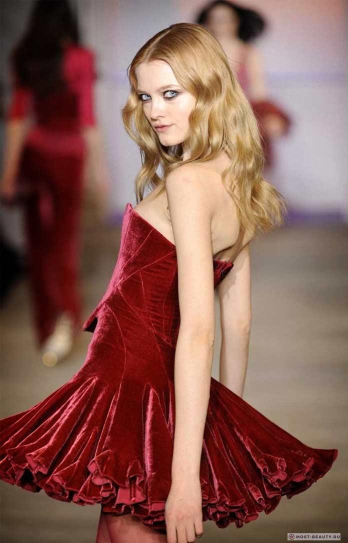 На фото: Влада Рослякова. Прекрасные русские модели