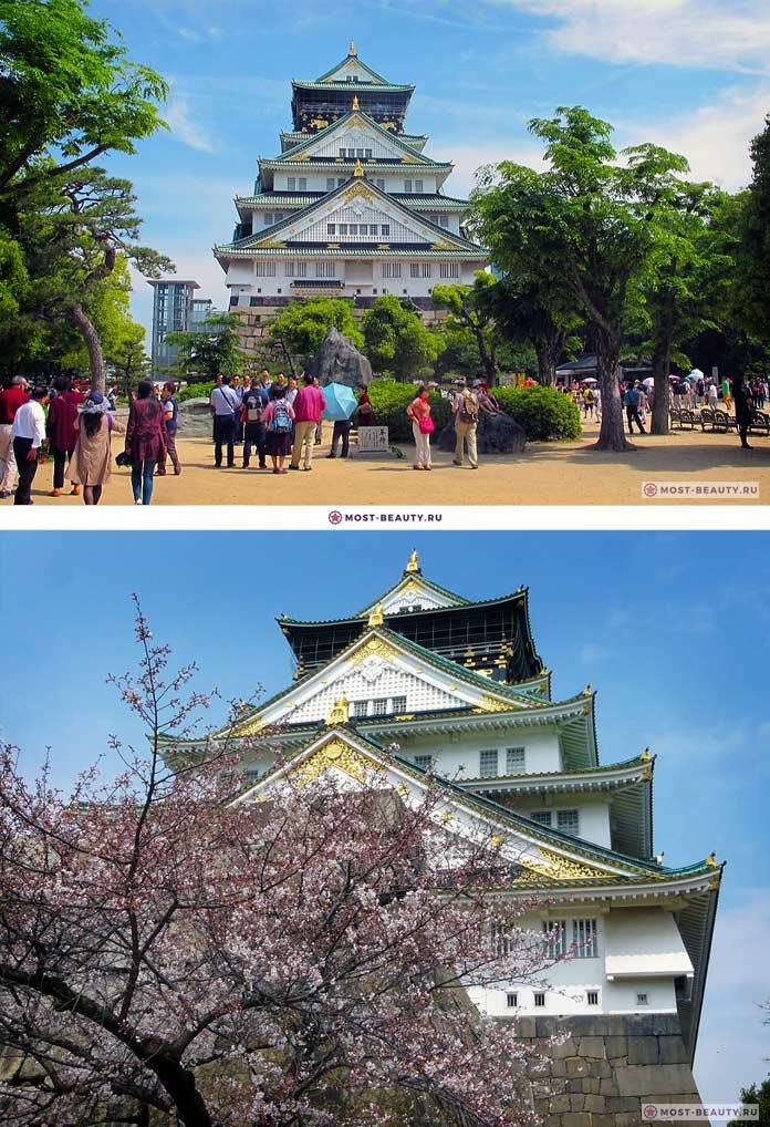 Замок в Осаке (CC0)