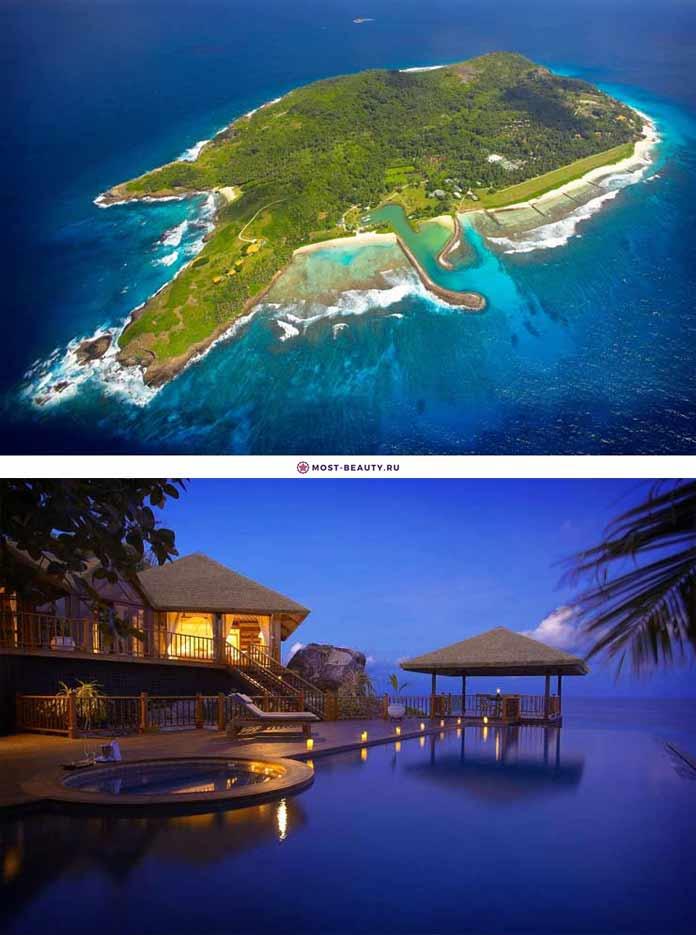 Самые красивые романтические места: Остров Фрегат