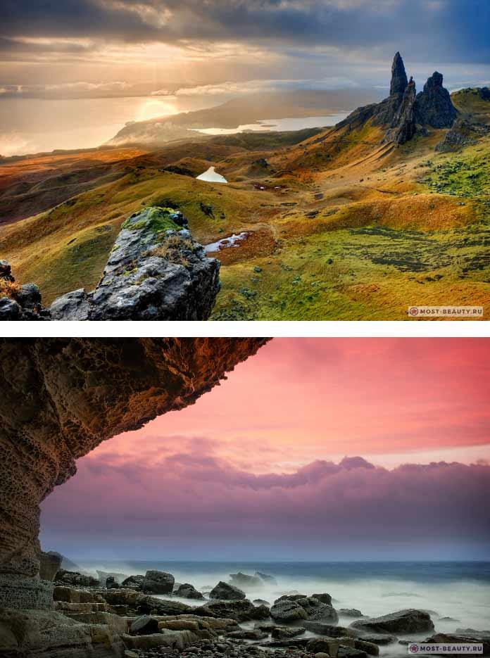 Самые красивые романтические места: Остров Скай