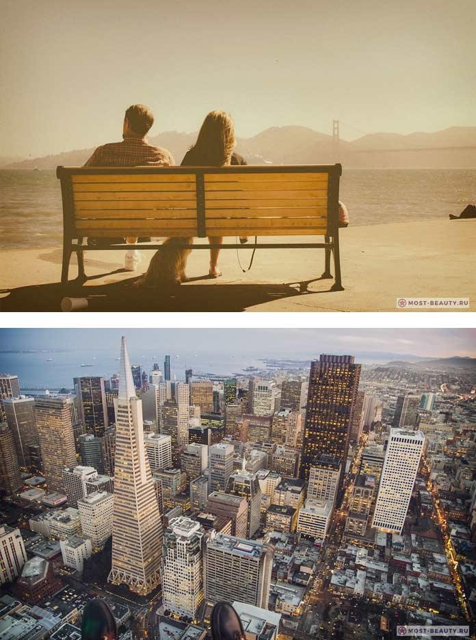 Самые красивые романтические места: Сан-Франциско