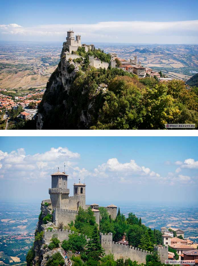 Самые красивые замки: Башня Гуаита (CC0)