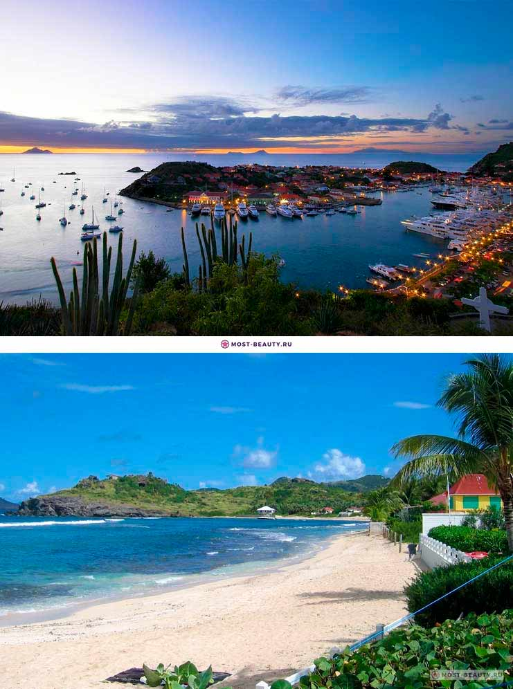 Сен-Бартелеми. Фото красивых островов