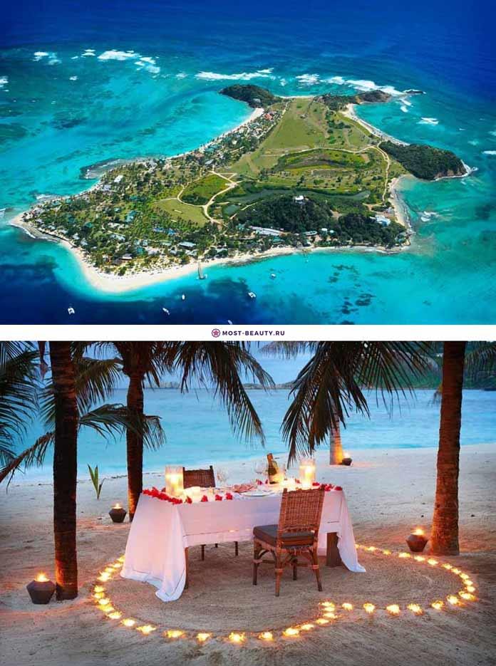 Самые красивые романтические места: Сент-Винсент и Гренадины