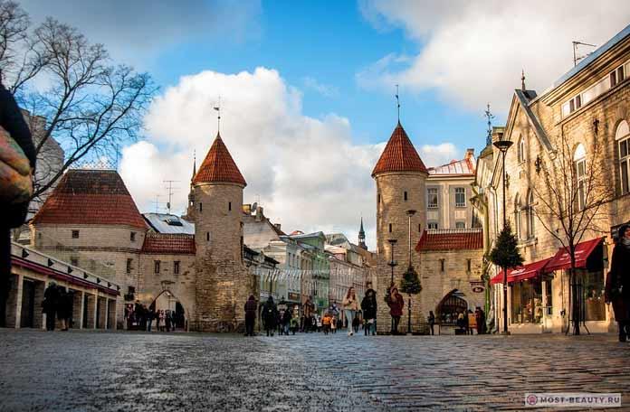 Самые красивые романтические места: Таллин