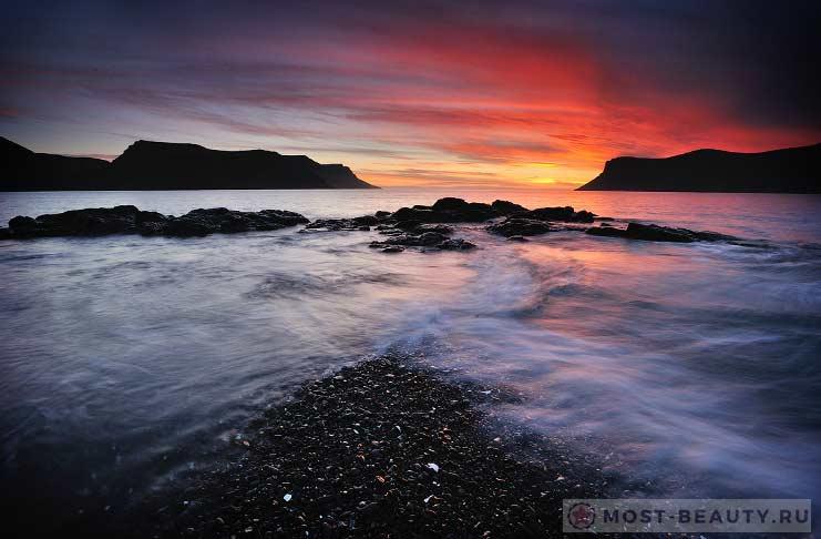Закаты в Westfjords CC0