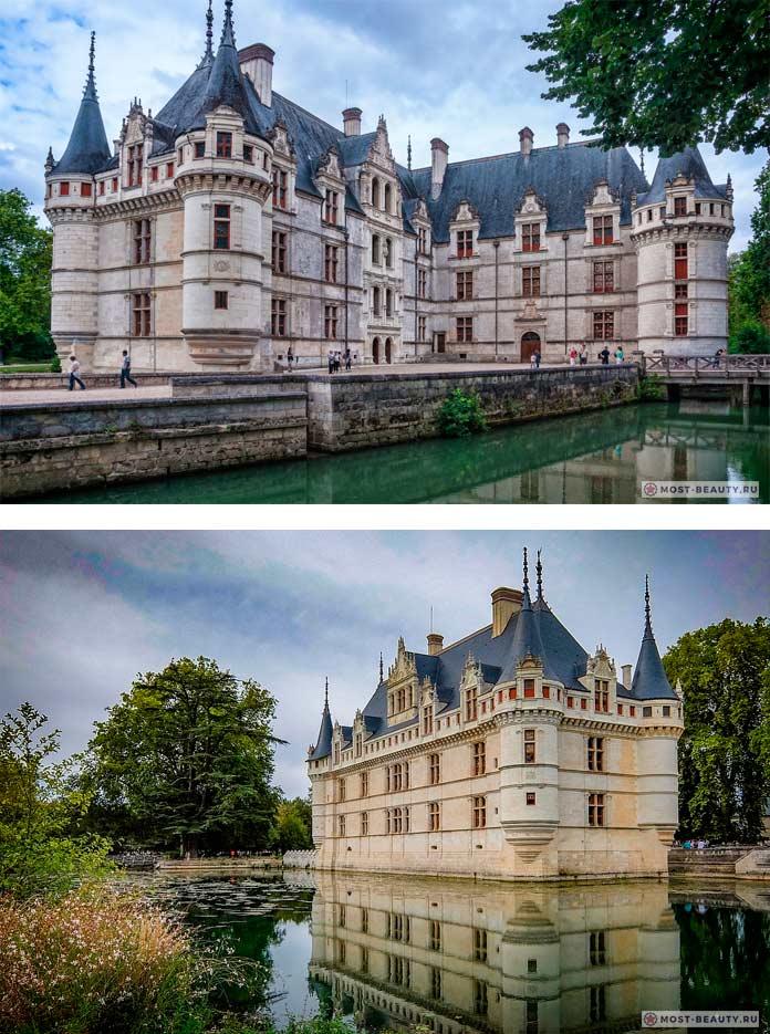 Самые красивые замки: Замок Азе-лё-Ридо