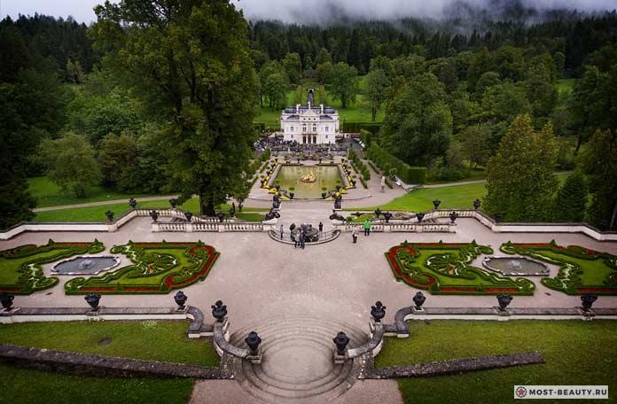 Самые красивые замки: Линдерхоф
