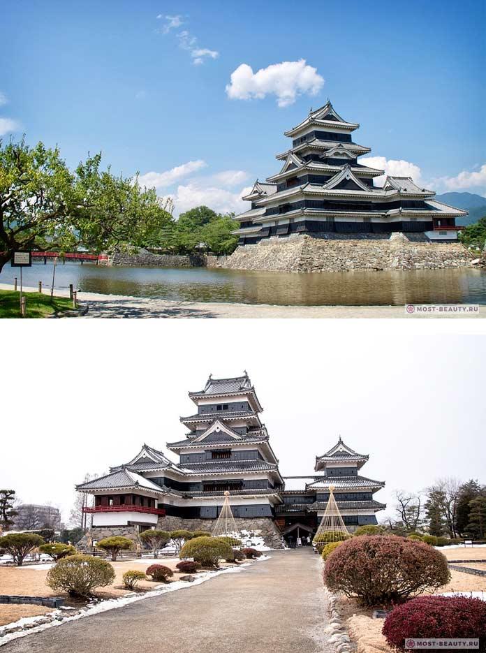 Замок в Мацумото