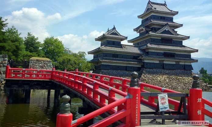 Самые красивые замки: Мацумото